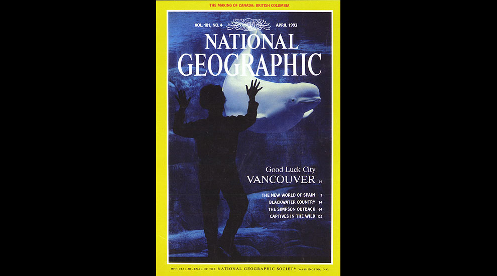 April 1992 Nation Geographic Cover