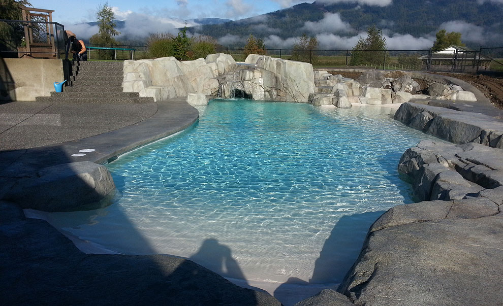 Vancouver custom swimming pool projects for City of vancouver swimming pools